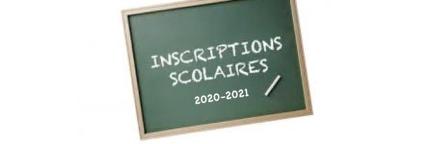 Inscriptions scolaires 2020/2021