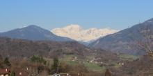 Le Mont-Blanc depuis Mercury